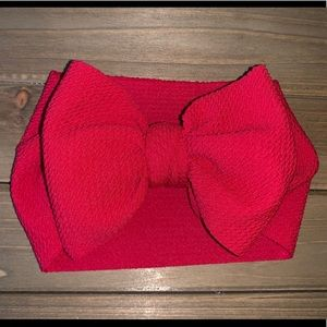 Other - Baby Head Wrap -Ruby